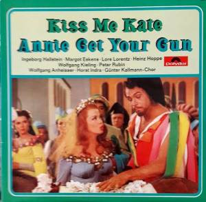 Cole Porter: Kiss Me Kate / Annie Get Your Gun - Cover