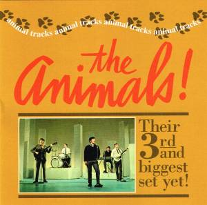 Cover - Animals, The: Animal Tracks (American Album)