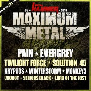 Cover - Winterstorm: Metal Hammer - Maximum Metal Vol. 221