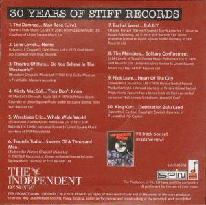 30 Years Of Stiff Records Volume Two (CD) - Bild 2