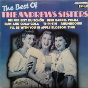 The Andrews Sisters: Best Of, The - Cover