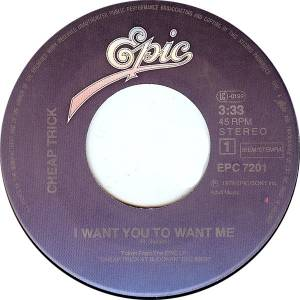 "Cheap Trick: I Want You To Want Me (7"") - Bild 3"