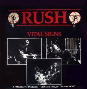 Rush: Vital Signs - Cover