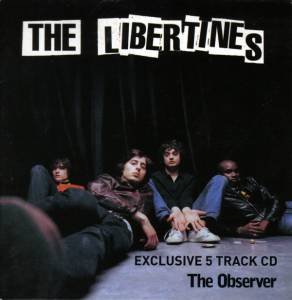 The Libertines: Exclusive 5 Track CD - Cover