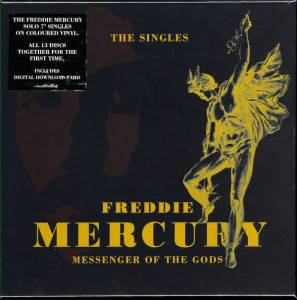 Cover - Freddie Mercury: Messenger Of The Gods: The Singles