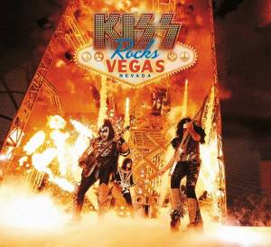 KISS: Kiss Rocks Vegas - Cover