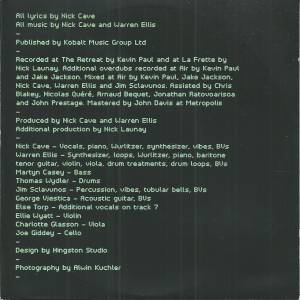 Nick Cave And The Bad Seeds: Skeleton Tree (CD) - Bild 4