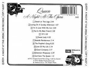 Queen: A Night At The Opera (CD) - Bild 2