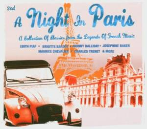 Night In Paris - A Collection Of Classics From The Legends Of French Music, A - Cover