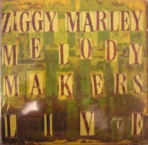 Ziggy Marley & The Melody Makers: Live Vol. 1 - Cover