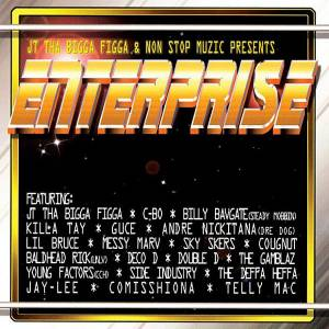 Cover - Young Fathers: Jt Tha Bigga Figga & Non Stop Muzic Presents: Enterprise