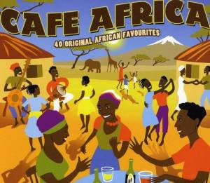 Cover - Dark City Sisters: Cafe Africa - 40 Original African Favourites