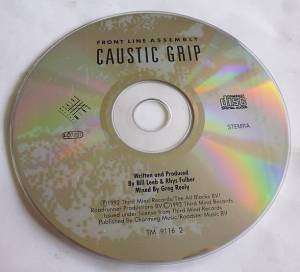 Front Line Assembly: Caustic Grip (CD) - Bild 3