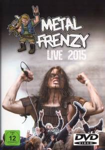 Cover - Hackneyed: Metal Frenzy Live 2015
