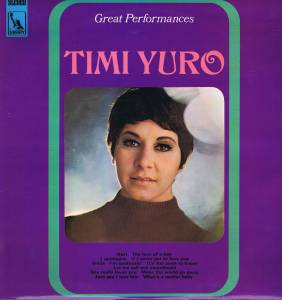 Timi Yuro: Great Performances - Cover