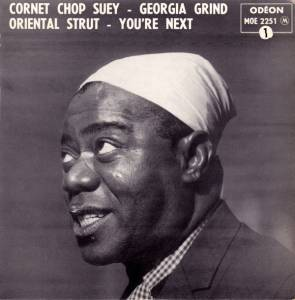 Cover - Louis Armstrong & His Hot Five: Cornet Chop Suey