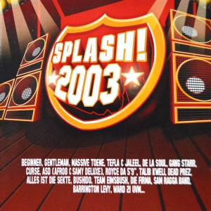 Cover - Sieben: Splash! 2003