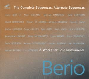 Cover - Luciano Berio: Complete Sequenzas, Alternate Sequenzas & Works For Solo Instruments, The