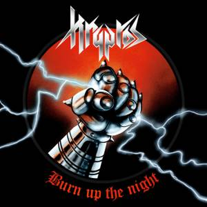 Kryptos: Burn Up The Night - Cover