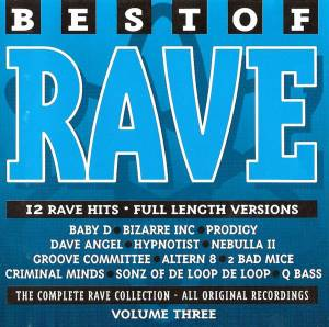 Best Of Rave Volume 3 - Cover