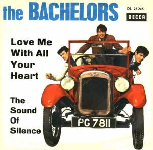 Cover - Bachelors, The: Love Me With All Your Heart