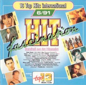 Top 13 Music-Club - Hit Fascination 6/91 - Cover