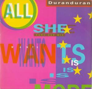 Duran Duran: All She Wants Is - Cover