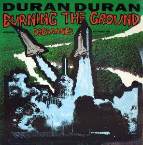 Duran Duran: Burning The Ground - Cover
