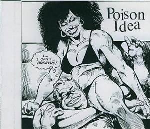 Poison Idea: Punish Me - Cover