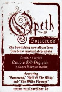 Opeth: Sorceress (2-CD) - Bild 2