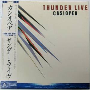 Cover - Casiopea: Thunder Live