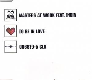 Cover - Masters At Work: To Be In Love