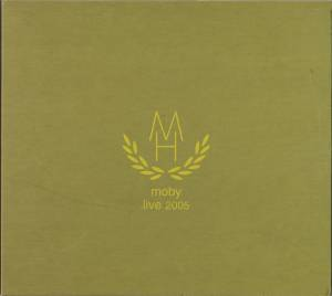 Moby: Live 2005 - Cover