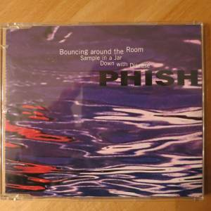 Phish Bouncing Around The Room Single Cd 1996 Compilation