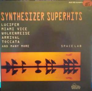 Synthesizer Superhits - Cover
