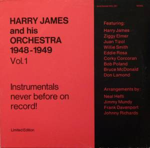 Cover - Harry James And His Orchestra: 1948 - 1949 - Vol. 1