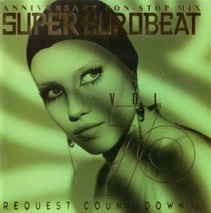 Cover - Jilly: Super Eurobeat Vol. 70 - Anniversary Non-Stop Mix Request Count Down 70
