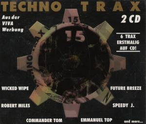 Techno Trax Vol. 15 - Cover