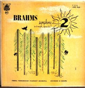Johannes Brahms: Symphony No. 2 In D Major Opus 73 - Cover