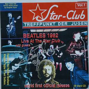 Cover - King Size Taylor & The Dominoes: Beatles 1962 - Live At The Star Club Vol. 1
