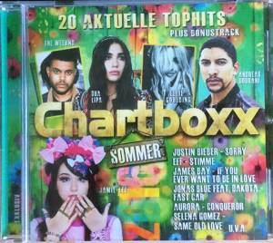 Cover - MoTrip: Club Top 13 - 20 Top Hits - Chartboxx - Sommer Extra 2016