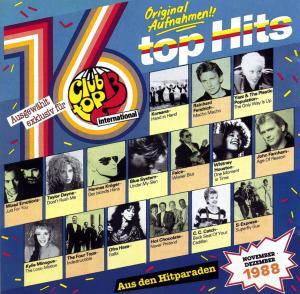 Cover - Yazz And The Plastic Population: Club Top 13 International - 16 Top Hits November/Dezember 1988