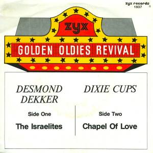 Cover - Dixie Cups, The: Golden Oldies Revival