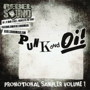 Punk And Oi!: Rebel Sound Promotional Sampler Volume 1 - Cover