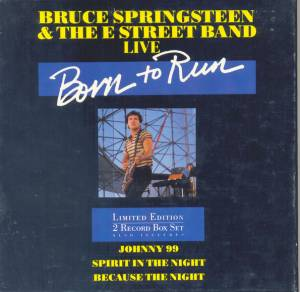 Cover - Bruce Springsteen & The E Street Band: Live - Born To Run
