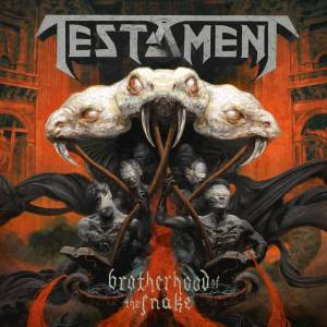 Testament: Brotherhood Of The Snake - Cover