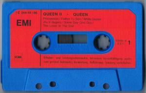 Queen: Queen II (Tape) - Bild 3