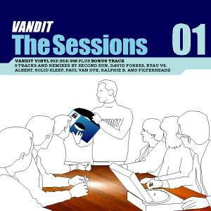 Cover - Second Sun: Vandit - The Sessions 01