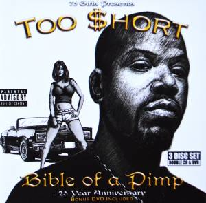 Too Short: Bible Of A Pimp - Cover