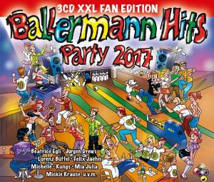 Cover - Dua Lipa: Ballermann Hits Party 2017